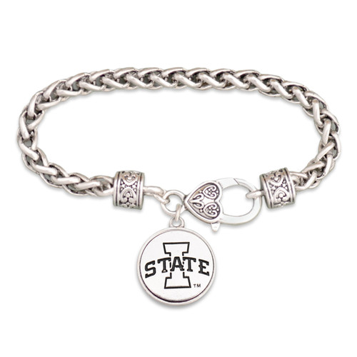 Iowa State Cyclones Silver Linings Bracelet