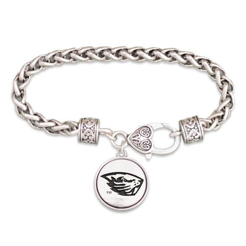 Oregon State Beavers Silver Linings Bracelet