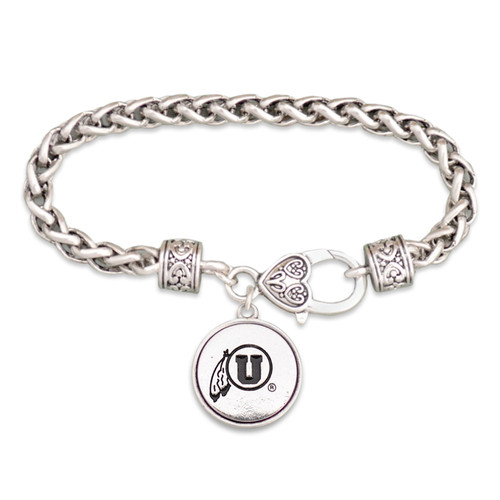Utah Utes Silver Linings Bracelet