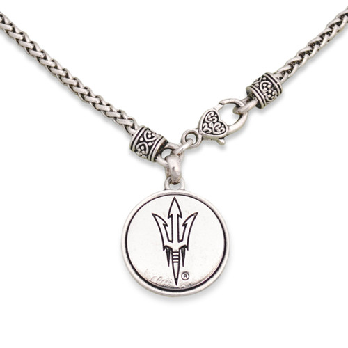 Arizona State Sun Devils Silver Linings Necklace