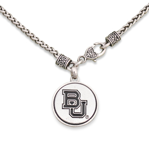 Baylor Bears Silver Linings Necklace