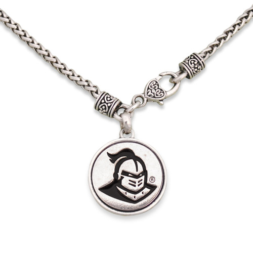 Central Florida Knights Silver Linings Necklace