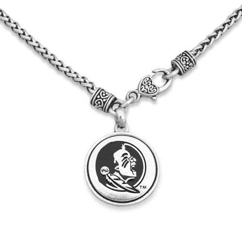 Florida State Seminoles Silver Linings Necklace
