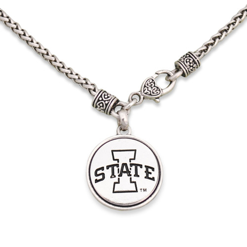 Iowa State Cyclones Silver Linings Necklace