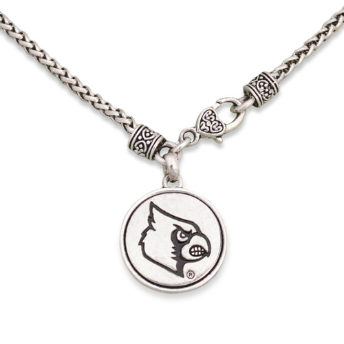 Louisville Cardinals Silver Linings Necklace