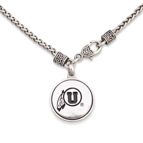 Utah Utes Silver Linings Necklace