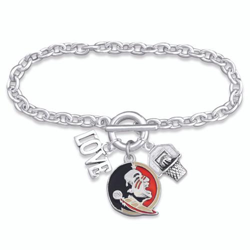 Florida State Seminoles Bracelet- Slam Dunk- FSU56823