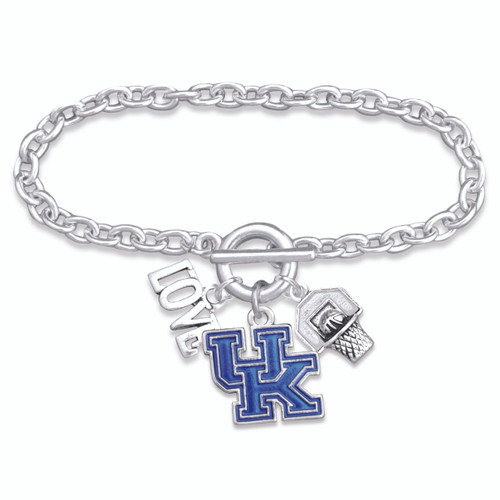 Kentucky Wildcats Bracelet- Slam Dunk- KY56831