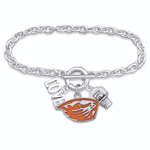 Oregon State Beavers Bracelet- Slam Dunk- ORS56846