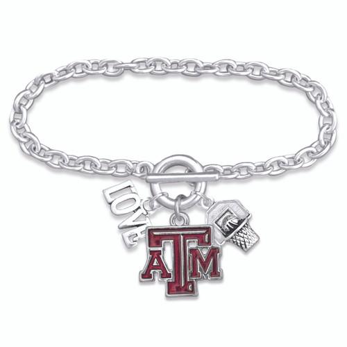 Texas A&M Aggies Bracelet- Slam Dunk- TAM56853