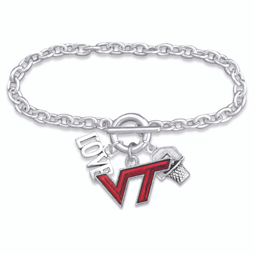 Virginia Tech Hokies Bracelet- Slam Dunk- VAT56856