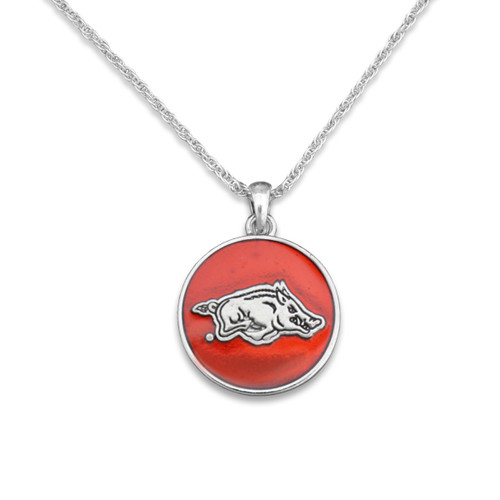 Arkansas Razorbacks Campus Chic Necklace