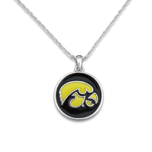 Iowa Hawkeyes Campus Chic Necklace
