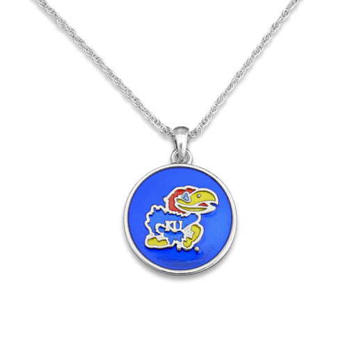 Kansas Jayhawks Campus Chic Necklace