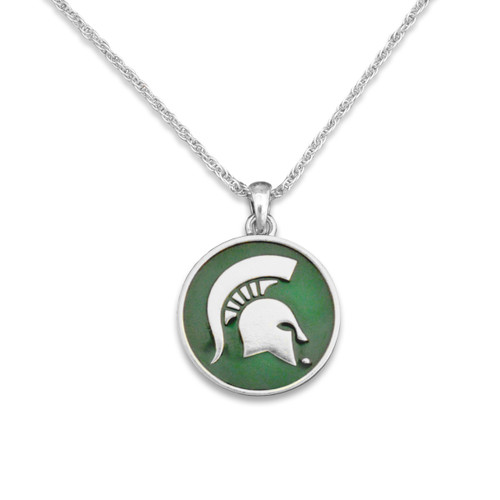 Michigan State Spartans Campus Chic Necklace