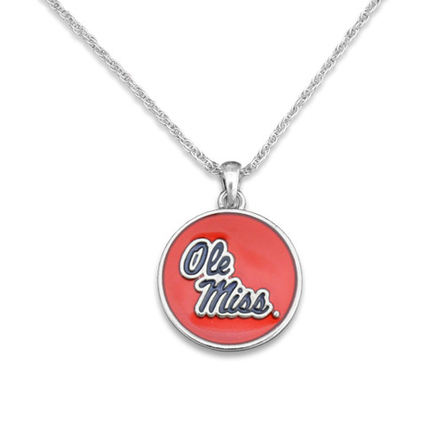Ole Miss Rebels Campus Chic Necklace