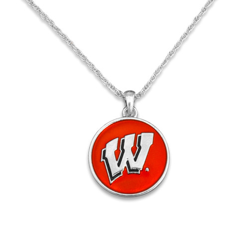 Wisconsin Badgers Campus Chic Necklace