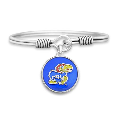 Kansas Jayhawks Campus Chic Bracelet