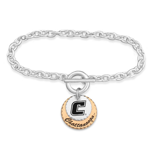 Chattanooga Mocs Haute Stamp Toggle Bracelet