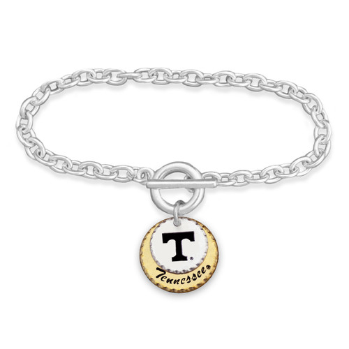 Tennessee Volunteers Haute Stamp Toggle Bracelet