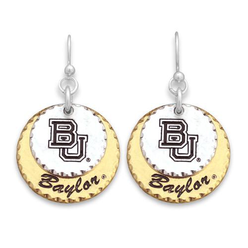 Baylor Bears Haute Stamp Earrings