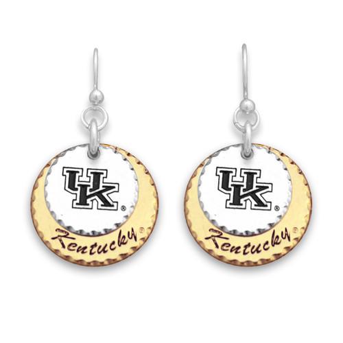 Kentucky Wildcats Haute Stamp Earrings