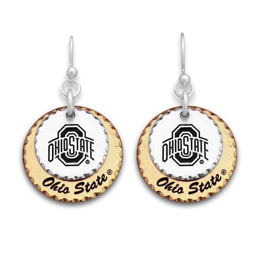 Ohio State Buckeyes Haute Stamp Earrings