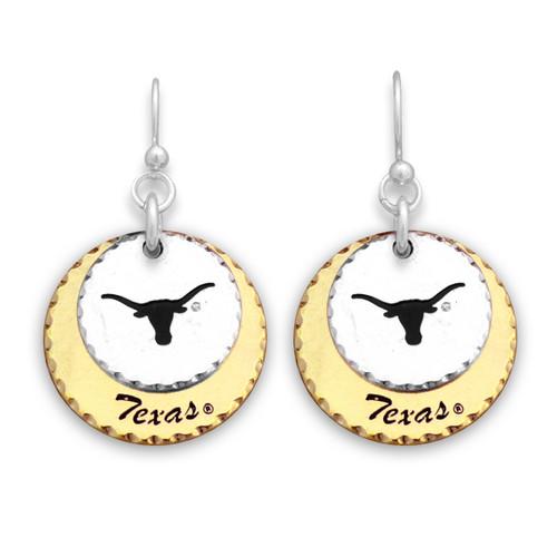 Texas Longhorns Haute Stamp Earrings