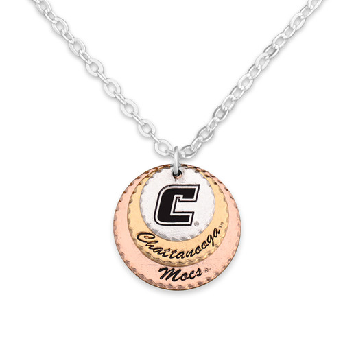 Chattanooga Mocs Haute Stamp Necklace