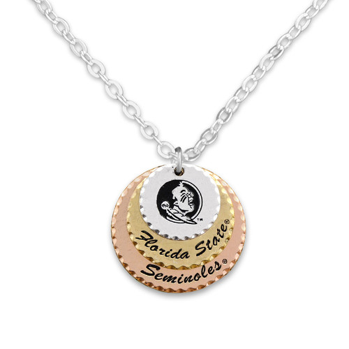 Florida State Seminoles Haute Stamp Necklace