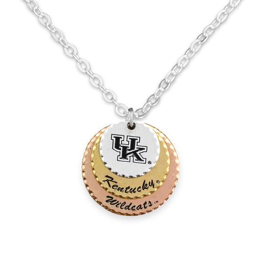 Kentucky Wildcats Haute Stamp Necklace