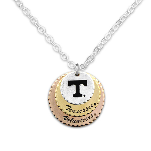Tennessee Volunteers Haute Stamp Necklace