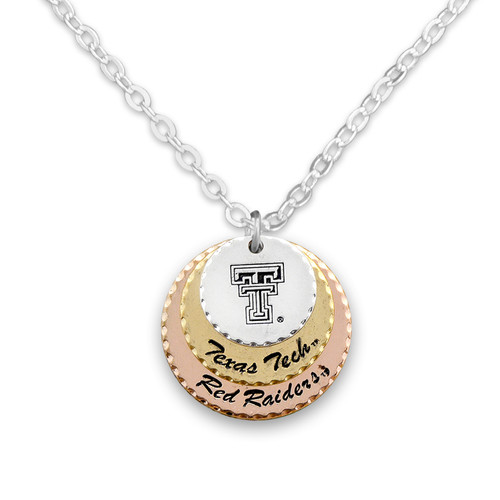 Texas Tech Red Raiders Haute Stamp Necklace