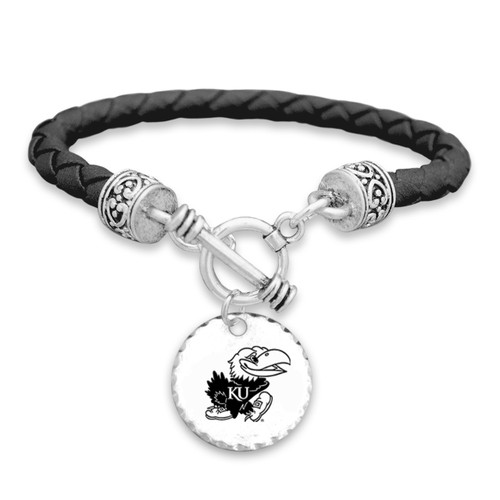 Kansas Jayhawks Head of the Class Bracelet