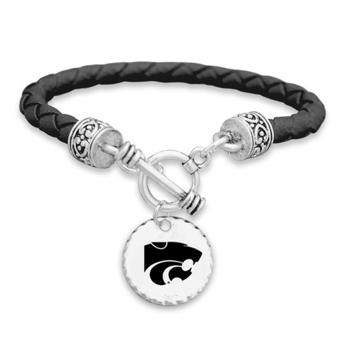Kansas State Wildcats Head of the Class Bracelet