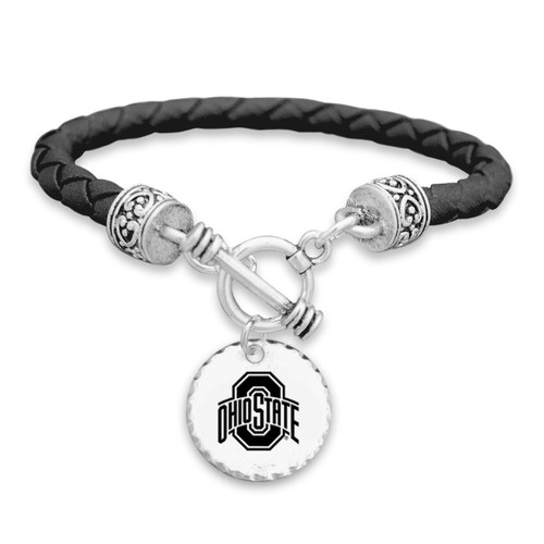 Ohio State Buckeyes Head of the Class Bracelet