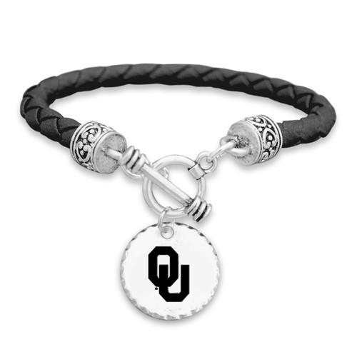 Oklahoma Sooners Head of the Class Bracelet