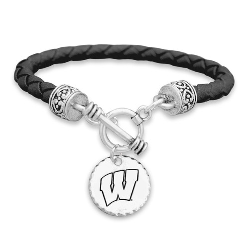 Wisconsin Badgers Head of the Class Bracelet