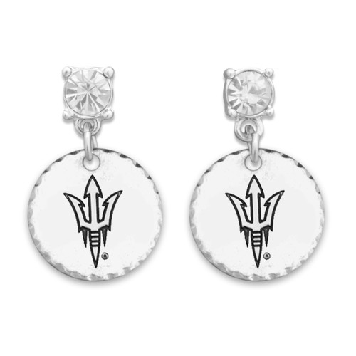 Arizona State Sun Devils Head of the Class Earrings