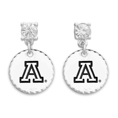 Arizona Wildcats Head of the Class Earrings