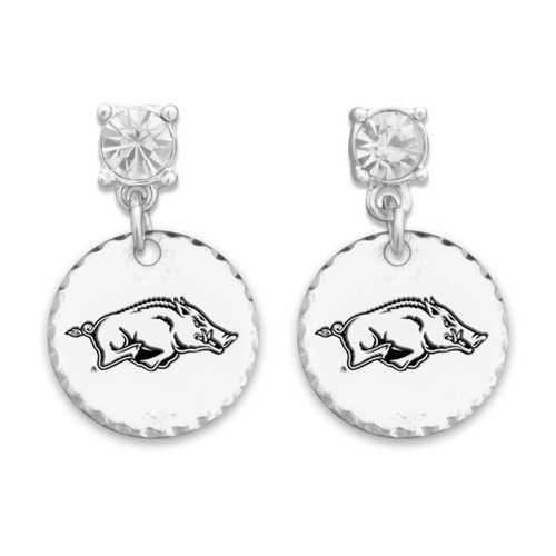 Arkansas Razorbacks Head of the Class Earrings