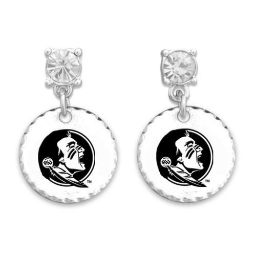 Florida State Seminoles Head of the Class Earrings