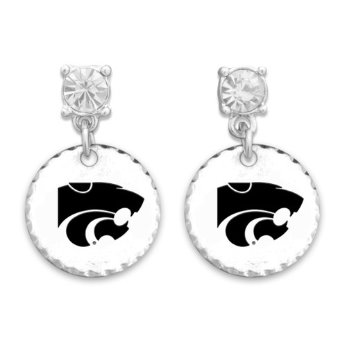 Kansas State Wildcats Head of the Class Earrings