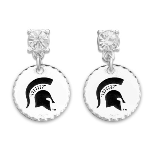 Michigan State Spartans Head of the Class Earrings