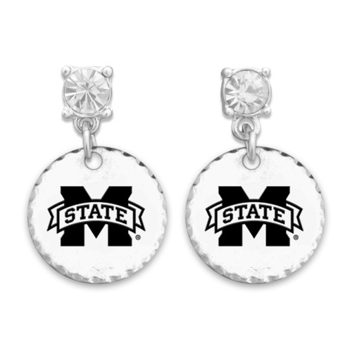 Mississippi State Bulldogs Head of the Class Earrings