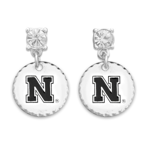 Nebraska Cornhuskers Head of the Class Earrings