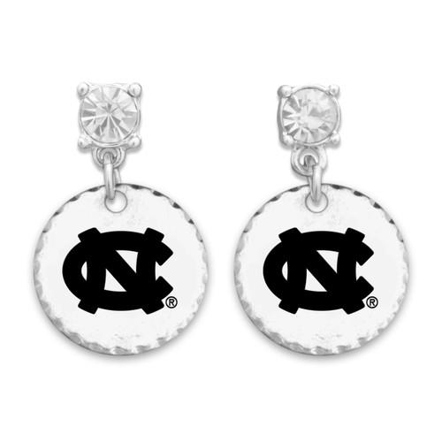 North Carolina Tar Heels Head of the Class Earrings