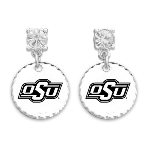 Oklahoma State Cowboys Head of the Class Earrings