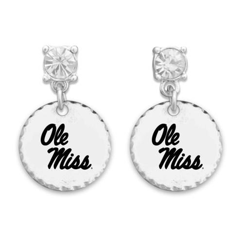 Ole Miss Rebels Head of the Class Earrings
