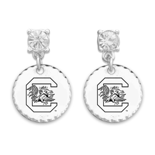 South Carolina Gamecocks Head of the Class Earrings